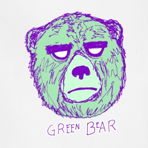 Green Bear Tee - Adjustable Apron