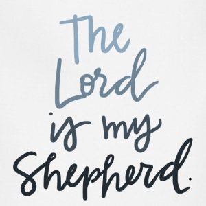The Lord Is My Shepherd - Adjustable Apron
