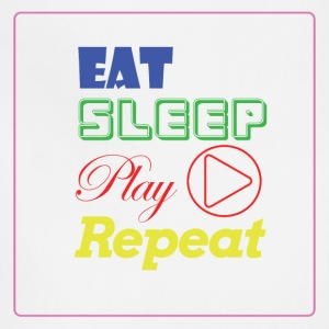 EAT, SLEEP, Play, Repeat - Adjustable Apron