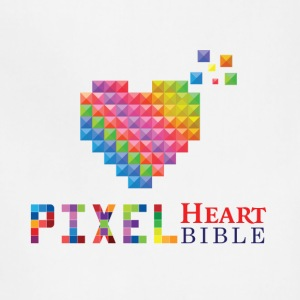 Pixel Heart Bible Logo - Adjustable Apron