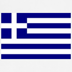 greek_flag - Adjustable Apron