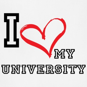 I_LOVE_MY_UNIVERSITY - Adjustable Apron