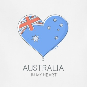 Australia In My Heart - Adjustable Apron