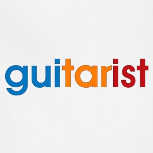 colorful guitarist - Adjustable Apron