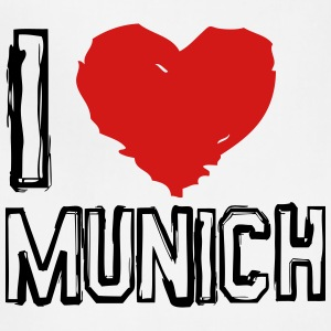 I LOVE MUNICH - Adjustable Apron