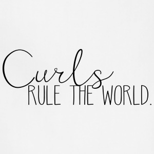 Curls Rule the World - Adjustable Apron