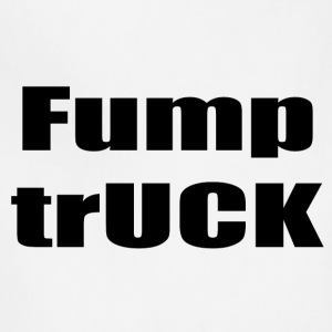 Fump trUCK (black text) - Adjustable Apron