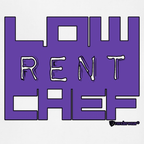 LRC LOGO-PURPLE/BLACK - Adjustable Apron