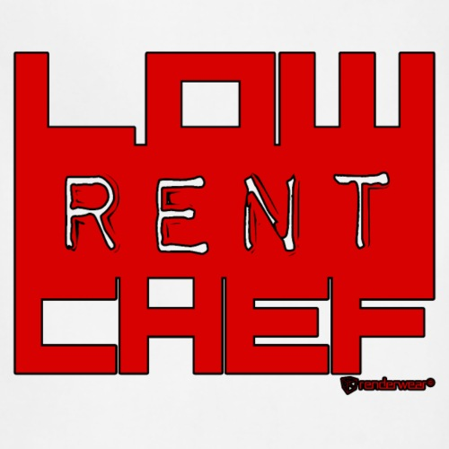 LRC LOGO-RED/BLACK - Adjustable Apron