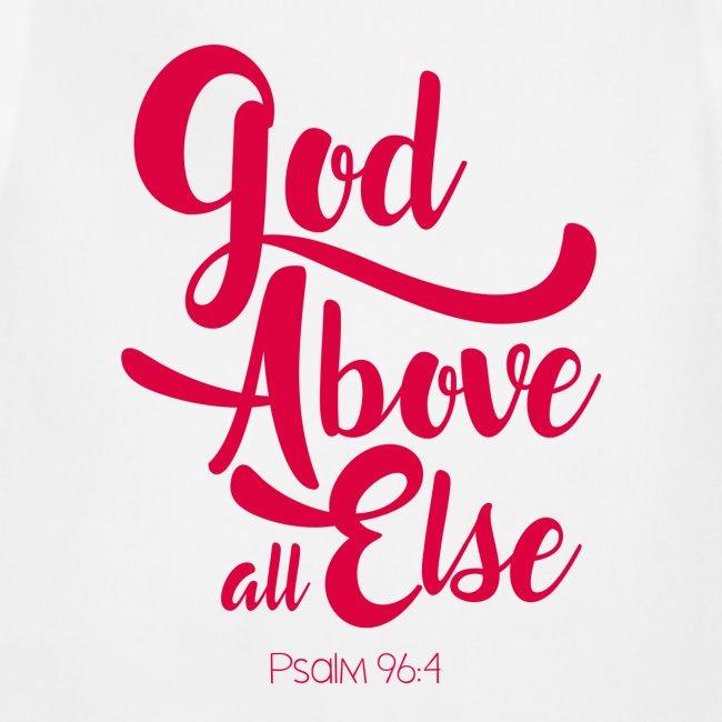 Psalm 96:4 God above all else