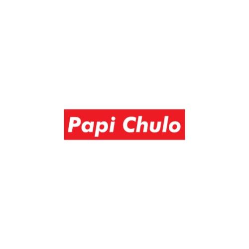 'Papi Chulo' Coca Cola Inspired Typography - Adjustable Apron