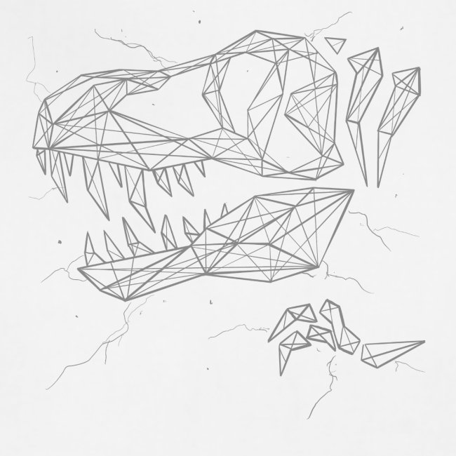 Jurassic Polygons by Beanie Draws