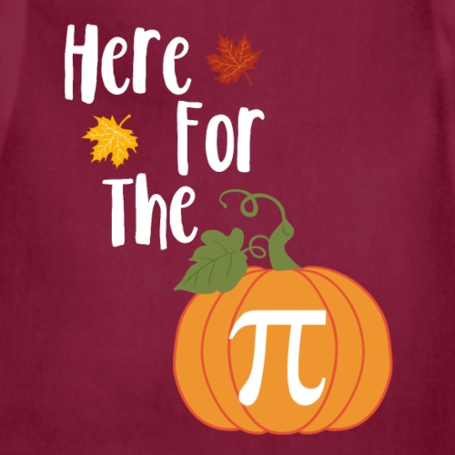 Thanksgiving Design - Here For The Pumpkin Pie - Adjustable Apron