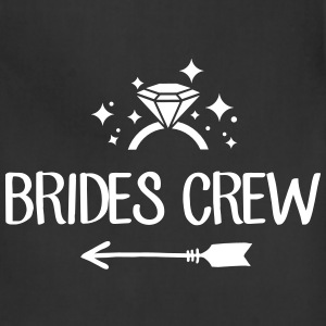 Brides Crew - team bride - bachelorette party - Adjustable Apron
