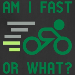 Am I fast, or what? - active wear for cycling - Adjustable Apron