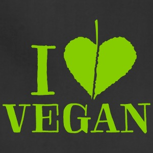 I love vegan - T-Shirt - Adjustable Apron