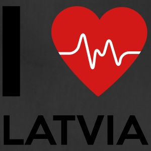 I Love Latvia - Adjustable Apron
