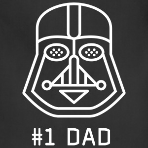 dad Father vader fatherday number One best Great f - Adjustable Apron