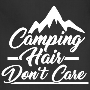 Camping Hair Don't Care for Outdoor Campers - Adjustable Apron
