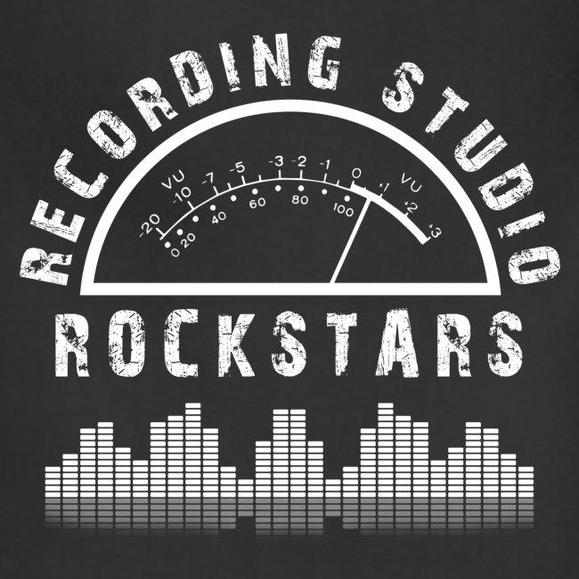 Recording Studio Rockstars - White Logo