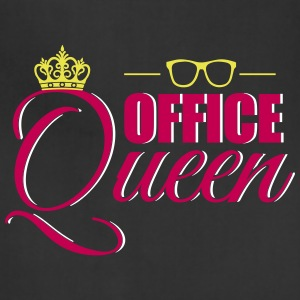 Cute Office Queen T-Shirt for Secretary - Adjustable Apron