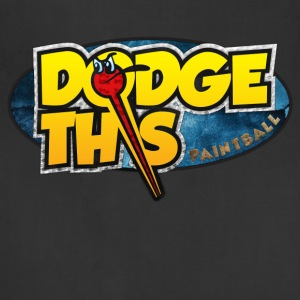 Dodge This Paintball Logo - Adjustable Apron