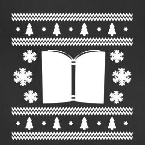 Book Christmas Shirt - Adjustable Apron