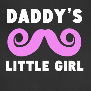 Daddy's Little Girl Mustache - Adjustable Apron