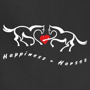 Love Horses Shirts - Adjustable Apron
