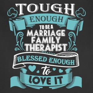 Marriage Family Therapist Shirt - Adjustable Apron