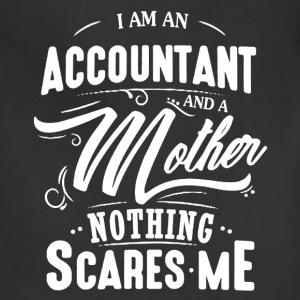 Accountant And Mother Shirt - Adjustable Apron
