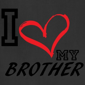I_LOVE_MY_BROTHER - Adjustable Apron