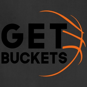 Get Buckets Basketball Graphic Tee - Adjustable Apron