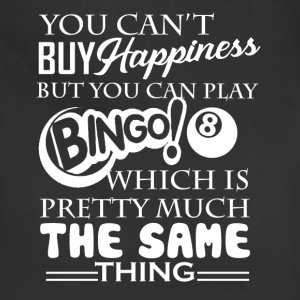 Bingo Happiness Shirt - Adjustable Apron