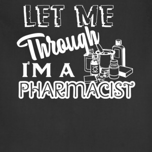 Pharmacist Tshirt - Adjustable Apron