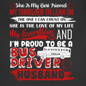 Bus Driver Husband Shirt - Adjustable Apron