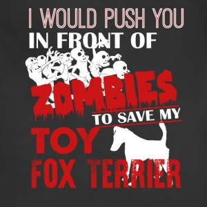 Save My Toy Fox Terrier Shirt - Adjustable Apron