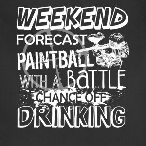 Weekend Forecast Paintball Shirt - Adjustable Apron