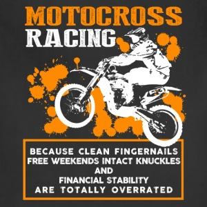 Motocross Racing Shirt - Adjustable Apron