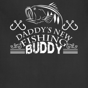 Daddy New Fishing Buddy Shirt - Adjustable Apron