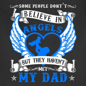 My Dad Is My Angel Shirt - Adjustable Apron
