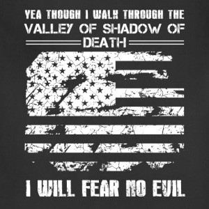 Patriotic Fear No Evil Shirt - Adjustable Apron