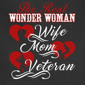 Veteran Mom Shirt - Adjustable Apron