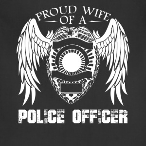 Police Officer Wife Shirt - Adjustable Apron