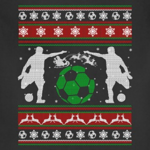 Soccer Shirt - Soccer Christmas Shirt - Adjustable Apron