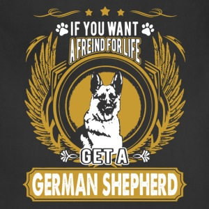 German Shepherd Friend Shirt - Adjustable Apron