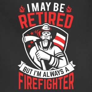 Firefighter Retired - Adjustable Apron