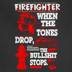 FIRE FIGHTER SHIRT - Adjustable Apron