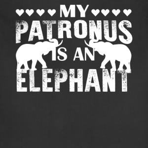 My Patronus Is An Elephant Shirt - Adjustable Apron