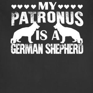 My Patronus Is A German Shepherd Shirt - Adjustable Apron